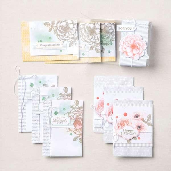 Stampin' Up! Kit Collection, Sentimental Rose Card Kit, Stampin' Studio