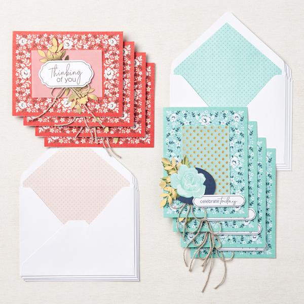 Stampin' Up! Kit Collection,  Kerchief Card Kit, Stampin' Studio