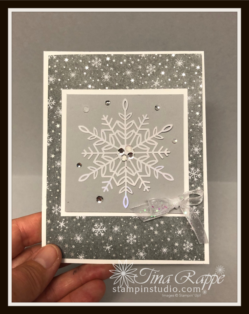 Stampin' UP! Peaceful Place Specialty Designer Series Paper, Holl;y Jolly Wishes stamp set, Stampin' Studio