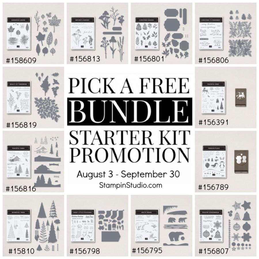 Stampin' Up! Sale-a-bration Pick a Free Bundle Promotion, Stampin' Studio
