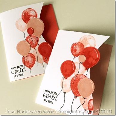 Balloon Builders Stampin Up