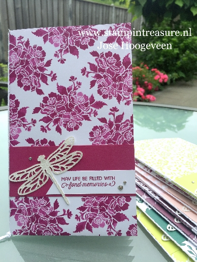 Bees and Butterflies bloghop stampin up
