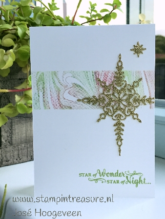 marbled stampin up