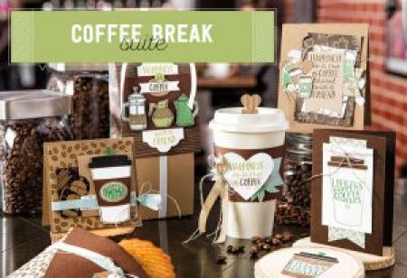 Coffe break suite stampin up