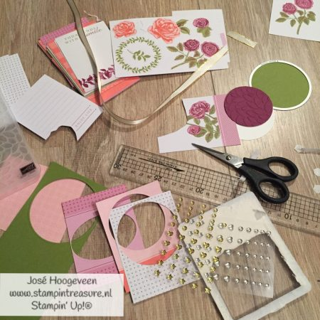 Stampin Up memories and more start cutting