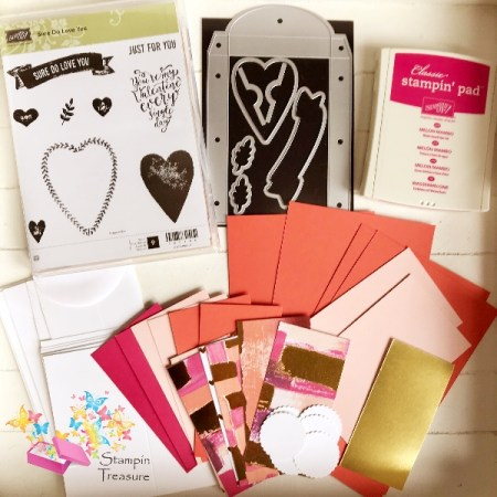 Sure do love you workshop pakket stampin up