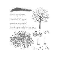 Sheltering Tree Photopolymer Stamp Set