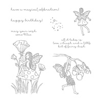 Fairy Celebration Clear-Mount Stamp Set