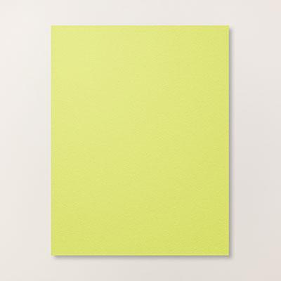 Lemon Lime Twist 8-1/2 x 11 Cardstock