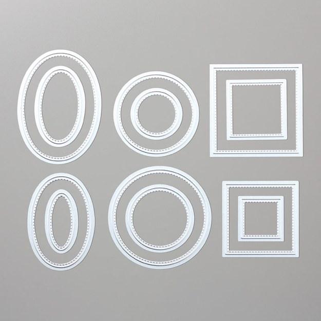 Framelits 145372Stickmuster Image