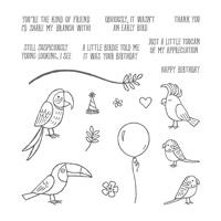 Bird Banter Photopolymer Stamp Set