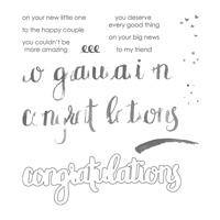 Amazing Congratulations Photopolymer Stamp Set