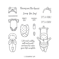 Sweet Baby Clear-Mount Stamp Set