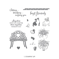 Sitting Pretty Photopolymer Stamp Set