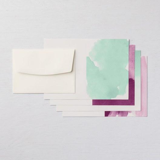 Delightfully Detailed Note Cards & Envelopes