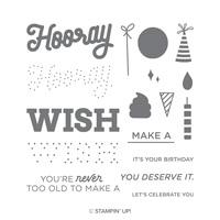 happy birthday stamp set