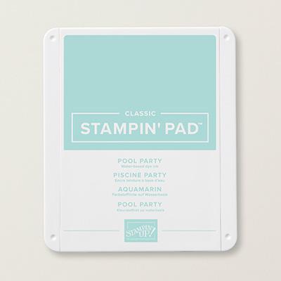 pale blue ink pad