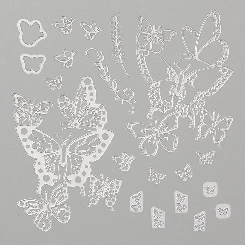 Butterfly Beauty Thinlits Dies