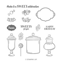 Sweetest Thing Photopolymer Stamp Set