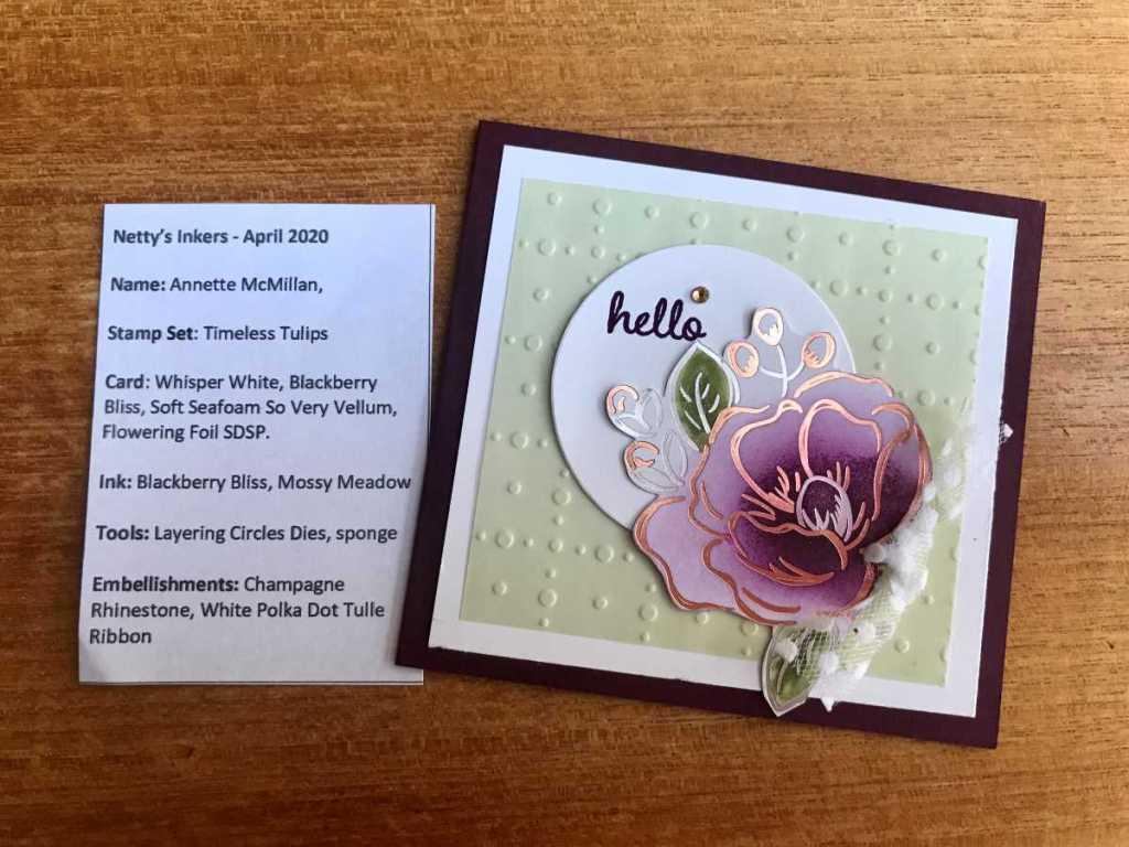 FloweringFoilsCardStampinUpAnnetteMcMillan31032020
