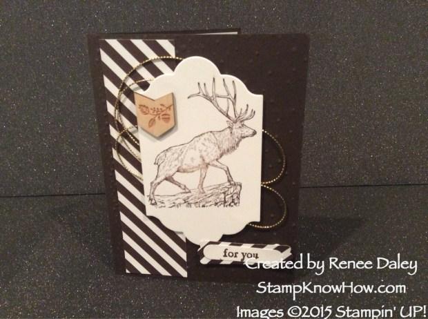 Stampin' Up Wilderness Awaits Stamp Set