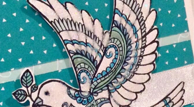 Dove of Peace Sparkles