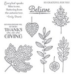 Lighthearted Leaves Photopolymer Stamp Set139712 Price: $26.00