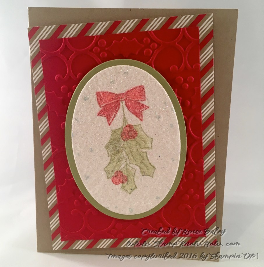 Image of Stampin UP Holly Berry Happiness