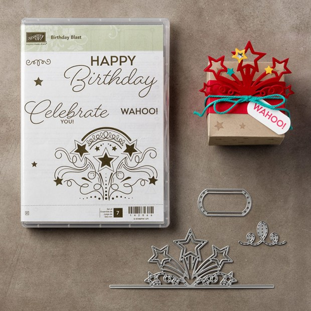 Birthday Blast Bundle from Stampin' UP