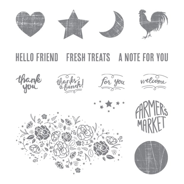Wood Words Stamp Set by Stampin' UP