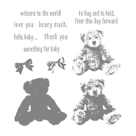 Baby Bear Stamp Set by Stampin' UP!