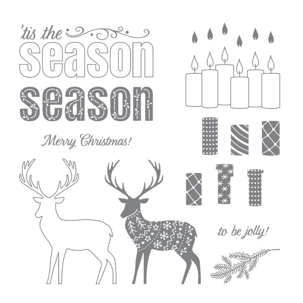 Merry Patterns Hostess Set