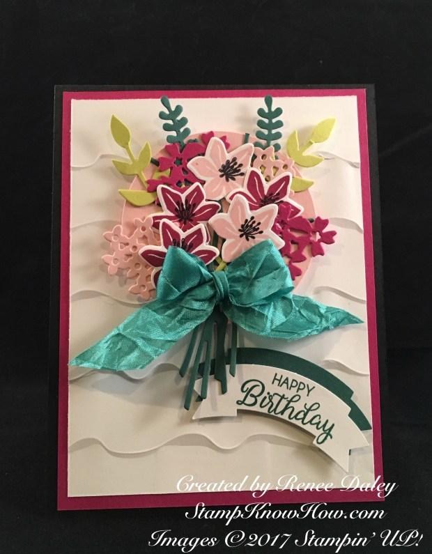 Stampin' UP Beautiful Bouquet Bundle