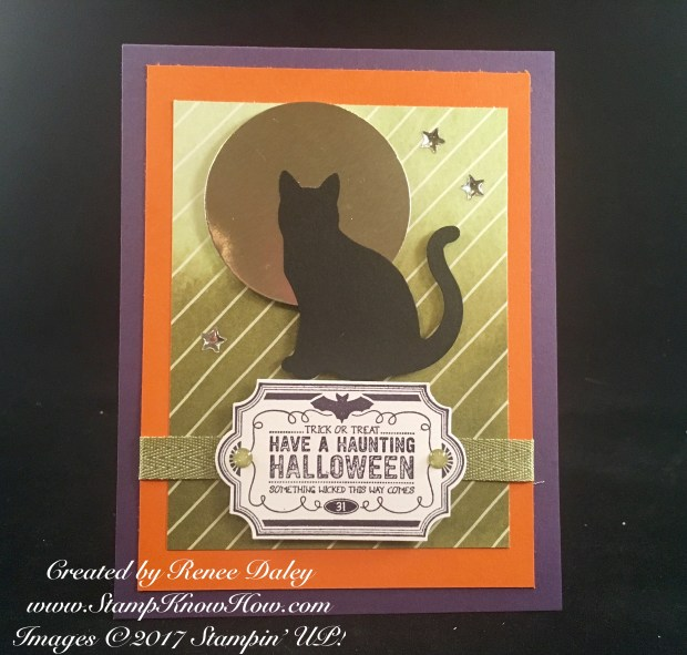 Cat Punch Card