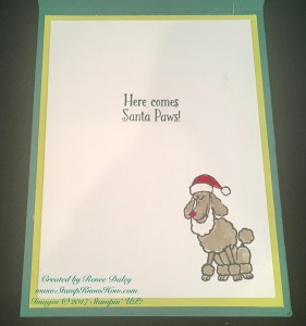 Santa Paws Stamp Set