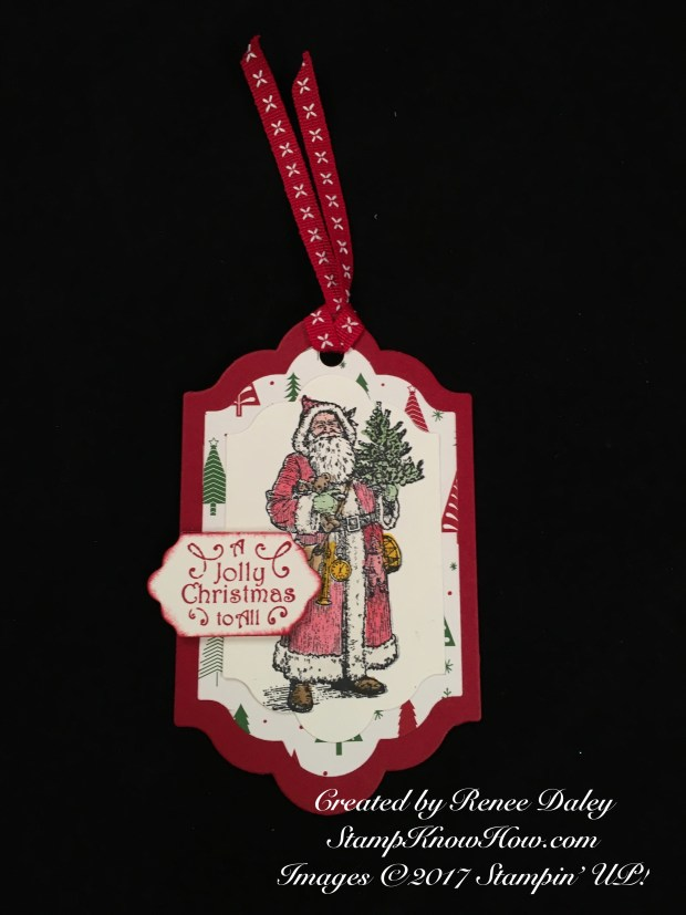 Father Christmas Tag