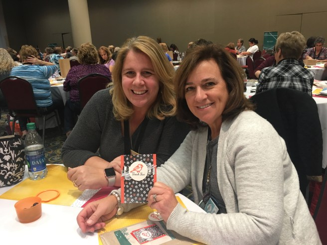 Renee and Shannon at OnStage 2017
