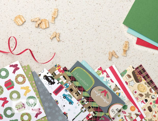 Christmas Around the World DSP by Stampin' UP