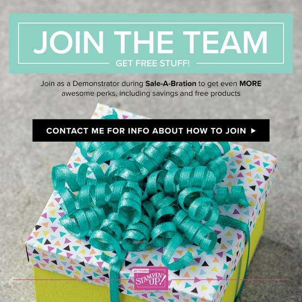 Join my team during Sale-A-Bration