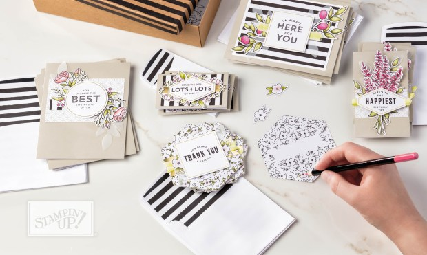Lots of Happy Card Kit by Stampin' UP