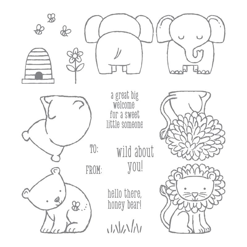 A Little Wild Stamp Set
