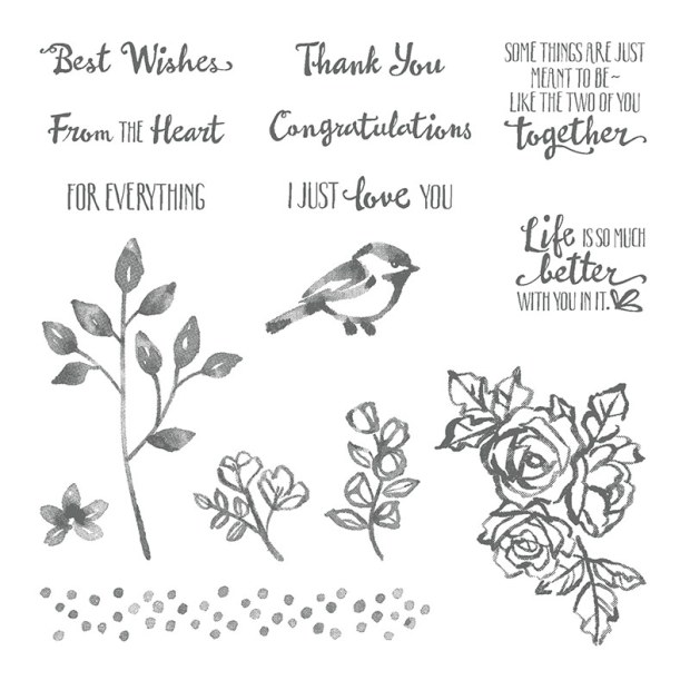 Petal Palette Stamp Set by Stampin UP!