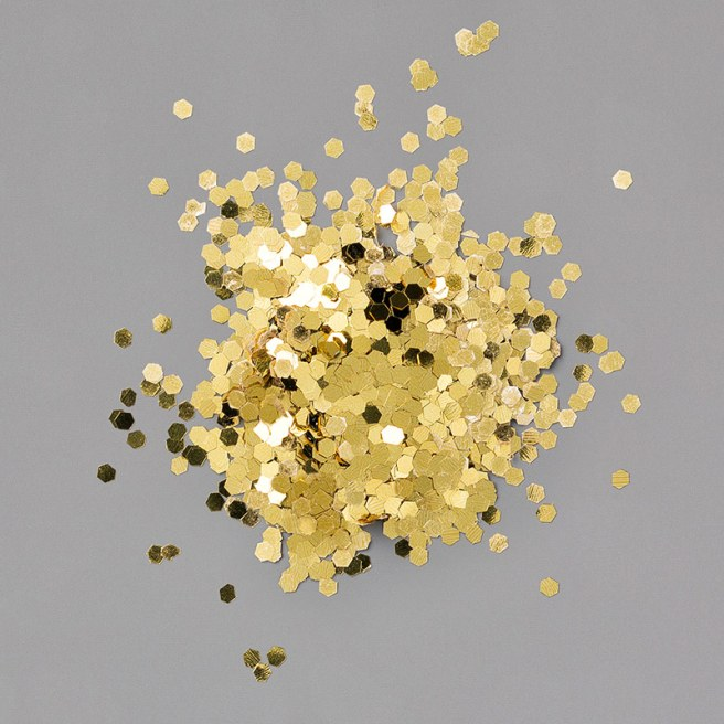 Gold Glitter Flakes by Stampin' UP