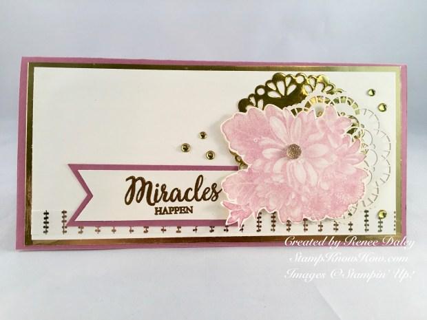 Heartfelt Blooms Encouragement Card for SUO challenge 196