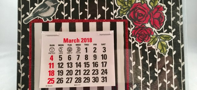 Petal Palette Calendar Project