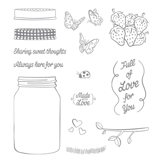 Sharing Sweet Thoughts Stamp Set by Stampin' Up!