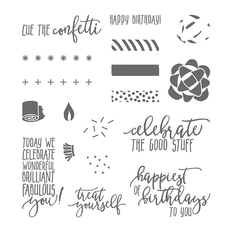Picture Perfect Photopolymer Stamp Set