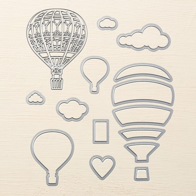 Up & Away Thinlits Dies by Stampin' UP