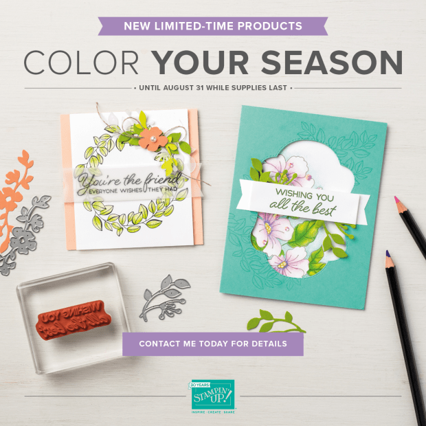 Color Your Season Bundle from Stampin' Up