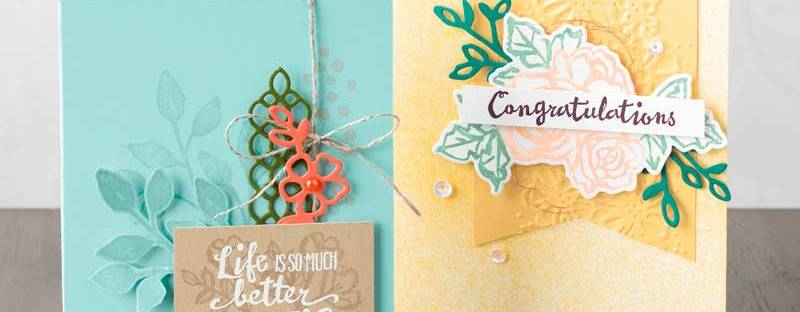 Petals & More Thinlit dies by Stampin' UP!
